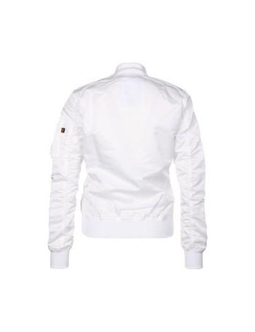 Bunda ALPHA MA-1 VF LW dámska, white