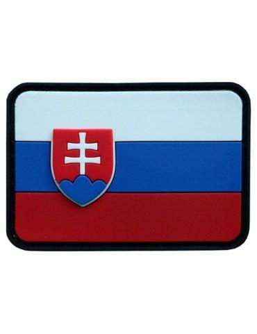 Nášivka SLOVENSKO, farebná, velcro