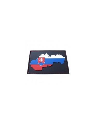 Nášivka Slovenská republika, farebná, velcro