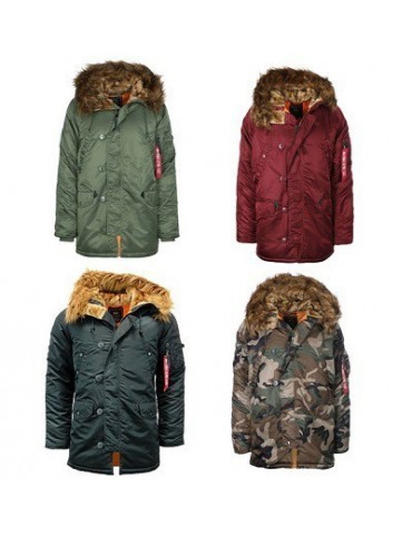 Kabát ALPHA N3B VF 59