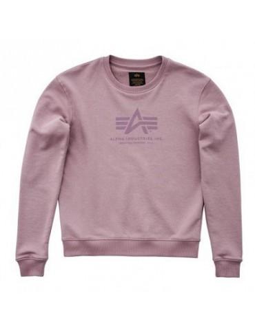 Bunda mikina ALPHA Logo Sweater dámska, silver pink