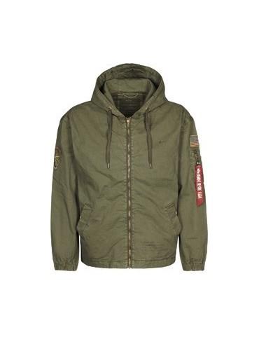 Kabát ALPHA Newport USAF, dark oliv