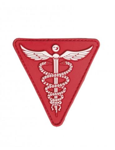 Nášivka MEDICAL M.KLETT - velcro, červená