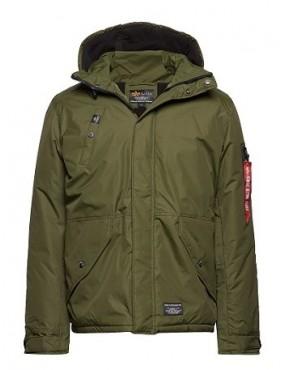 Kabát ALPHA ECWCS EV, dark green