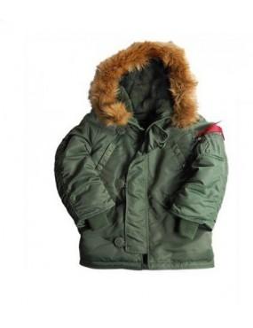 Kabát ALPHA N3B detský