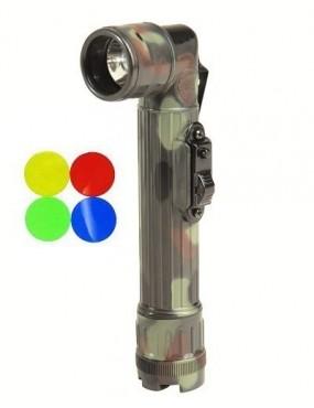 Svietidlo uhol US LED Medium, flecktarn