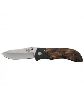 Nožík zatvárací FOX s drevenou rukoväťou