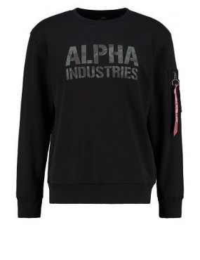 Mikina ALPHA Camo Print Sweat