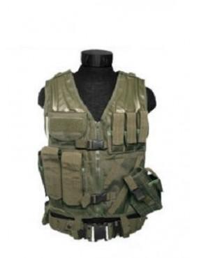 Vesta taktická USMC s púzdrom na zbraň