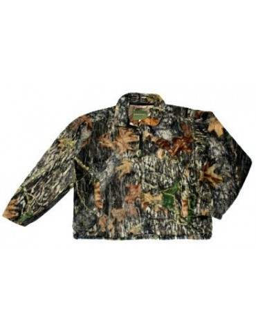 Bunda fleece MEDALIST HUNTGEAR, hardwood tmavá