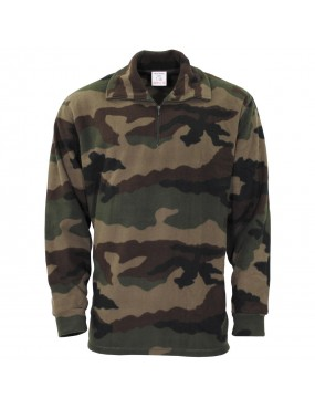 Tričko fr. armády F1 fleece, CCE camo