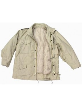 Kabát M-65, pieskový