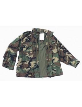Kabát  TRU-SPEC M-65, woodland