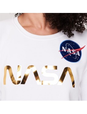 Mikina ALPHA INDUSTRIES dámske NASA PM SweaterS
