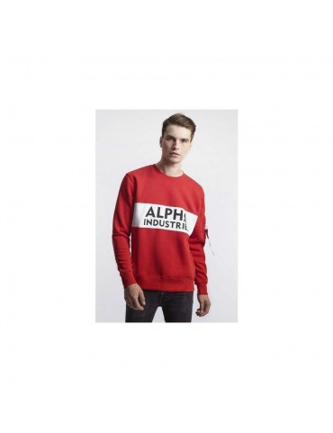 Mikina ALPHA INDUSTRIES Inlay Sweater