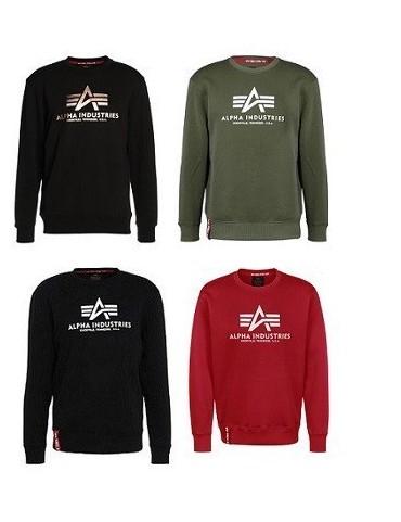 Mikina ALPHA Basic Sweater