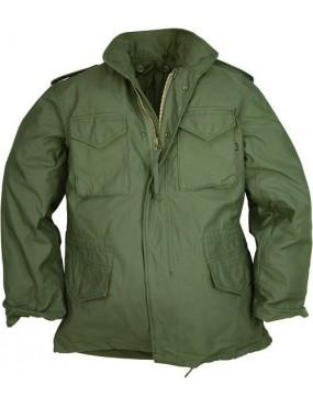 Kabát army ALPHA M-65, olive