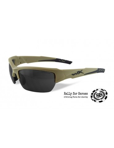 Okuliare Wiley X - VALOR Smoke Grey, tan
