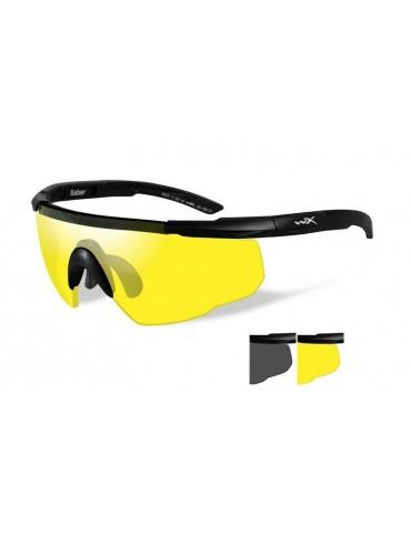 Okuliare Wiley X - SABER ADV Smoke / Pale Yellow