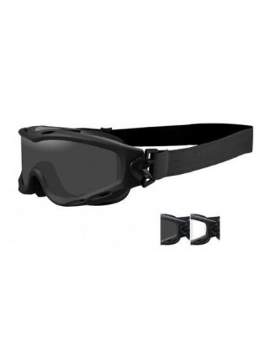 Okuliare WILEY X - SPEAR, 2 sklá, black