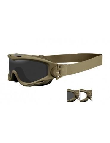 Okuliare WILEY X - SPEAR, 2 sklá, tan