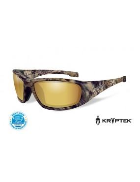 Okuliare Wiley X - BOSS Amber Gold Kryptek, polarizačné