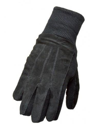 Rukavice kožené + Thinsulate, čierne
