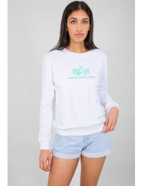 Mikina ALPHA INDUSTRIES dámska Rainbow Sweater