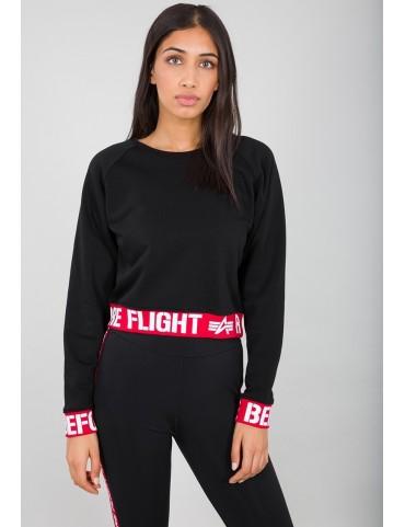 Mikina ALPHA dámska RBF Cropped Sweater
