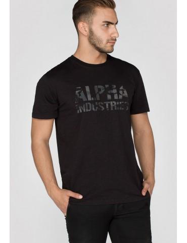 Tričko ALPHA INDUSTRIES Camo Print T