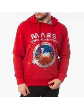 Mikina ALPHA INDUSTRIES Mission To Mars Hoody