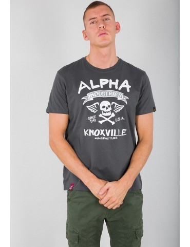 Tričko ALPHA INDUSTRIES Skull T