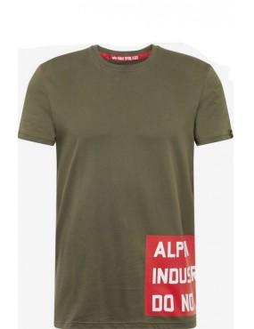 Tričko ALPHA INDUSTRIES Do Not Remove T