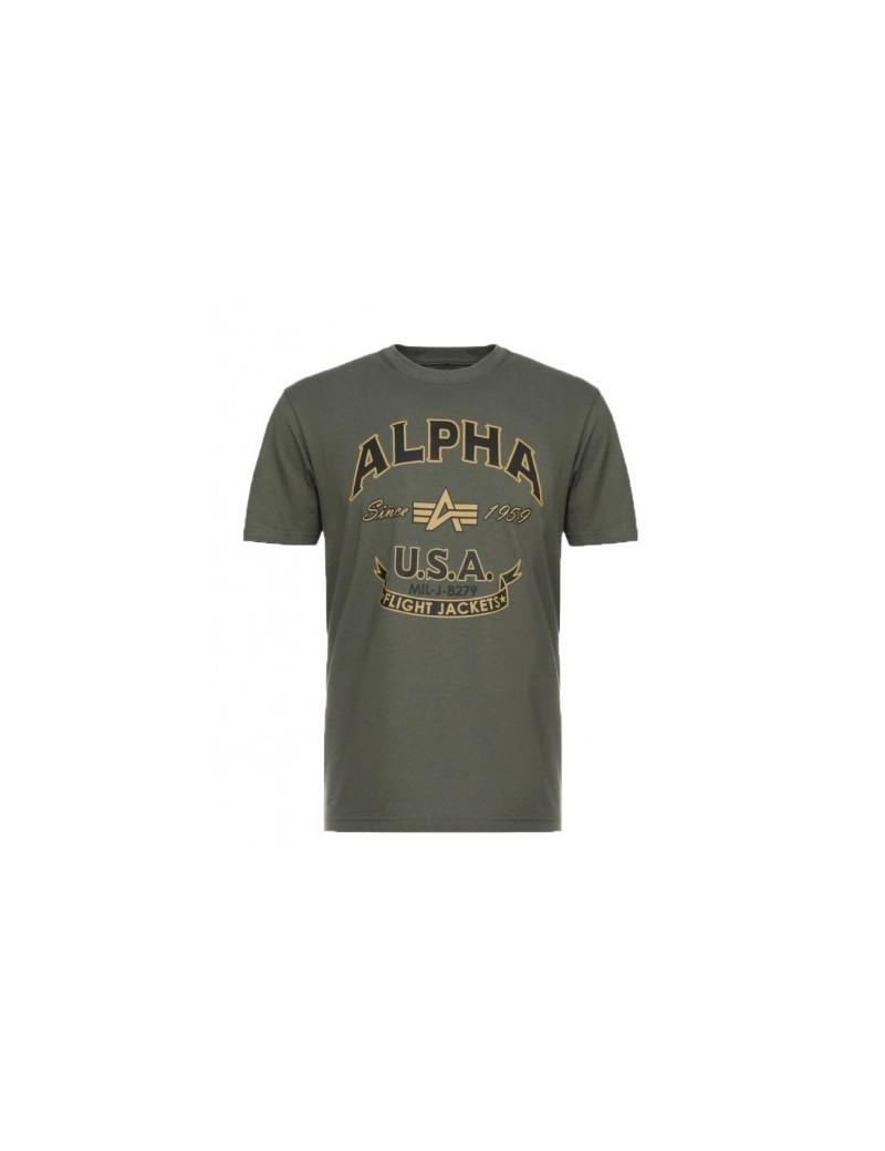 Tričko ALPHA INDUSTRIES Alpha FJ T