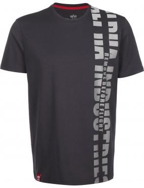 Tričko ALPHA INDUSTRIES Reflective Print T