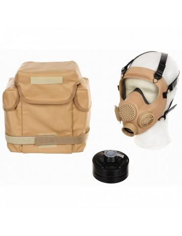 Maska ochranná celotvárová MP5, piesková