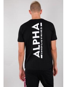Tričko ALPHA INDUSTRIES Backprint T