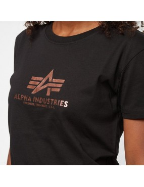 Tričko dámske ALPHA New Basic T Foil Print
