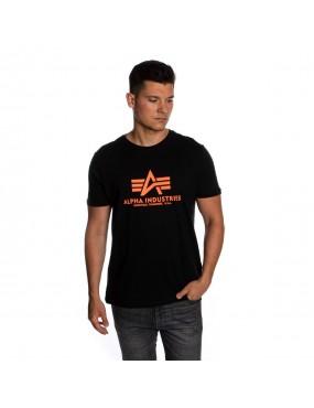 Tričko ALPHA Basic Neon Print
