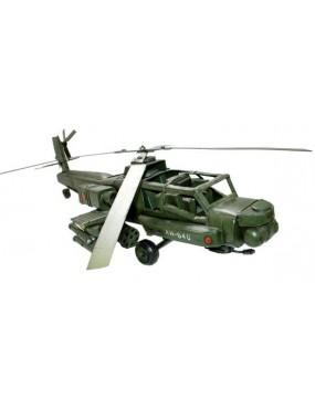 Model US bojovej helikoptéry
