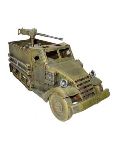 Model US pásového auta s ťažkým guľometom, WWII