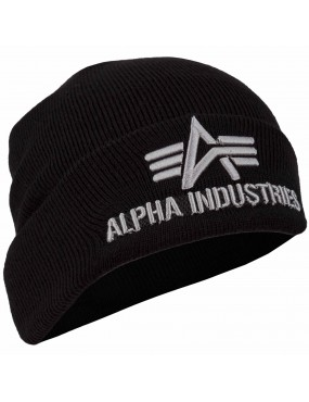 Čiapka ALPHA INDUSTRIES 3D pletená