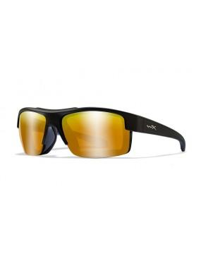 Okuliare Wiley X - COMPASS  Amber Gold Mirror, polarizačné