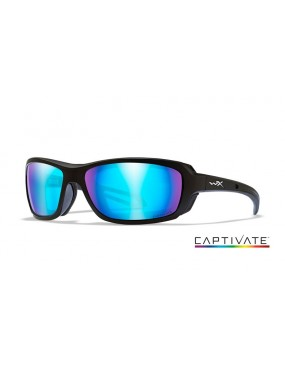 Okuliare Wiley X - WAVE Captivate Blue Mirror