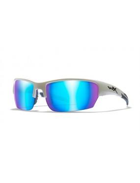 Okuliare Wiley X - SAINT Blue Mirror Gloss, polarizačné