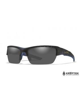 Okuliare Wiley X - VALOR Smoke Grey Kryptek Typhon, polarizačné