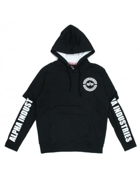 Mikina ALPHA INDUSTRIES Sleeve Print Hoody