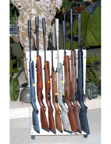 Pušky vzduchové - ilustračné foto z predajne