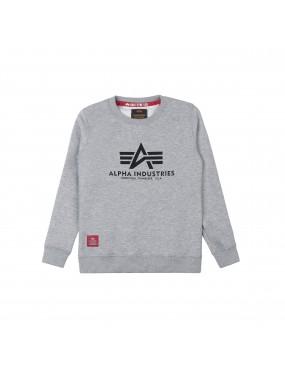 Mikina ALPHA INDUSTRIES detská Basic Sweater