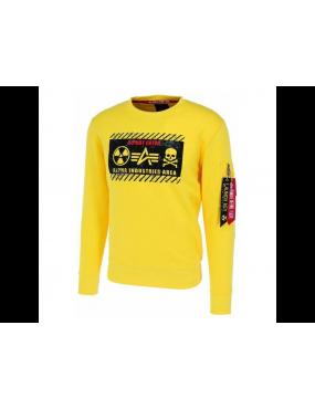 Mikina ALPHA INDUSTRIES Radioactive Sweater